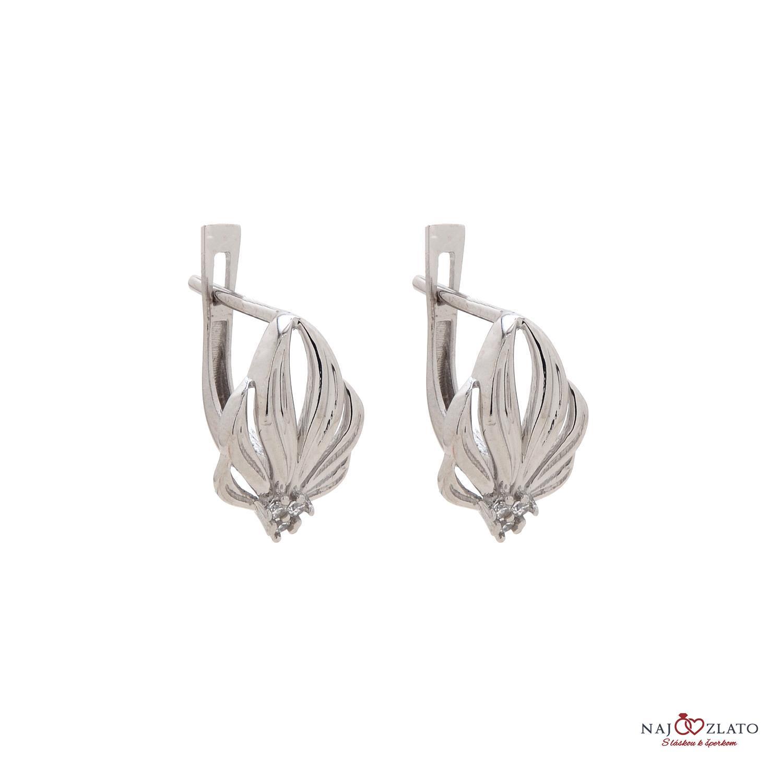 ed530425d OPAL white női arany fülbevaló | Kivaloarany.hu